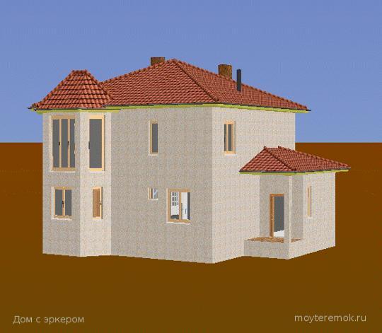 Дом на фундаменте ТИСЭ