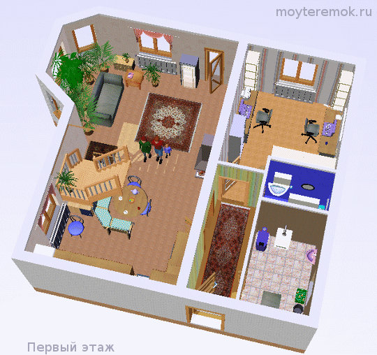 Проект и интерьер дома