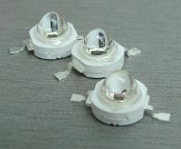 светодиоды для фитолампы 3GR-R и 3GR-B с разными линзами