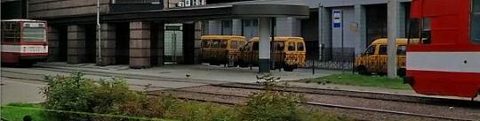 остановка 531 автобуса у Ладожского вокзала