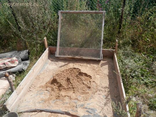 сеим песок