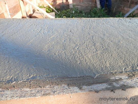 заглаженный бетон