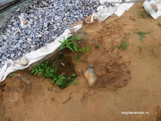 вывод канализации