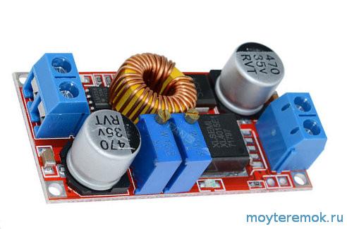 плата DC-DC для зарядки литиевых аккумуляторов