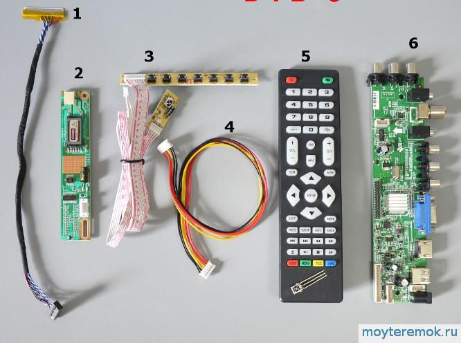 самодельный телевизор набор