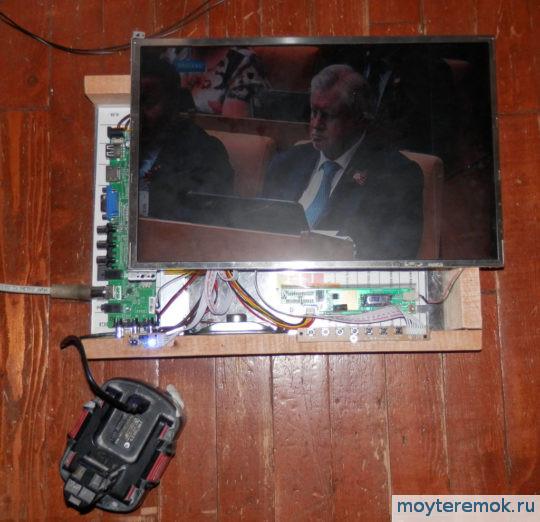 телевизор своими руками