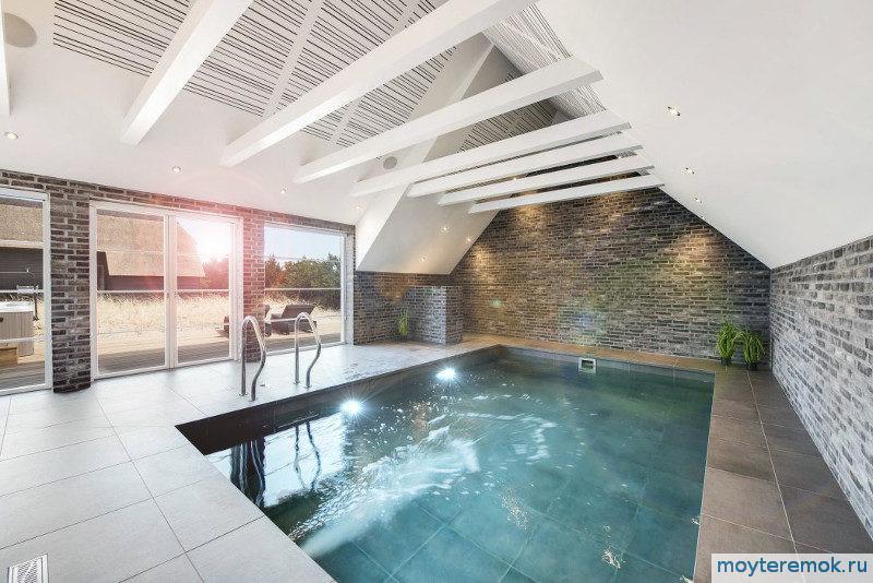 бассейн с противотоком