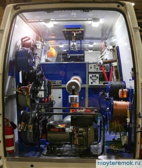 передвижная электротехническая лаборатория