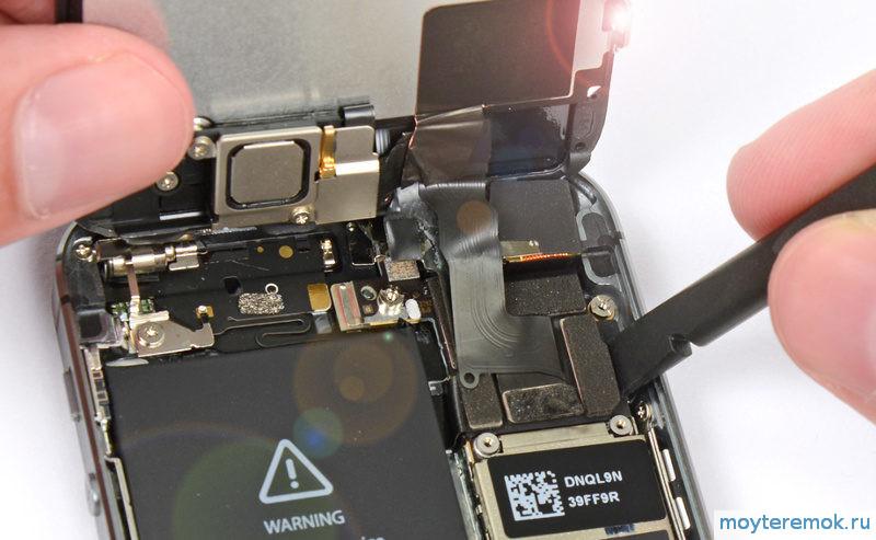 замена дисплея на айфон 5