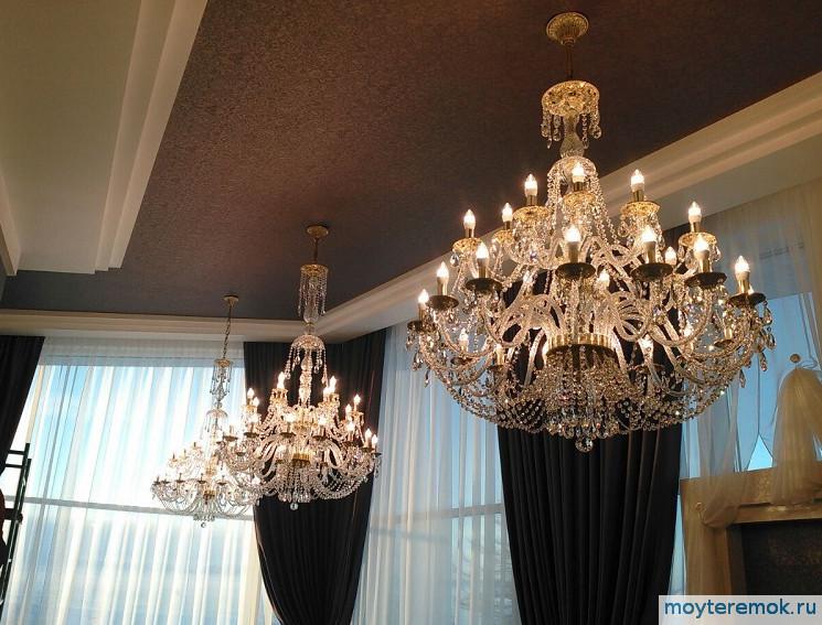 купить люстры для гостиной