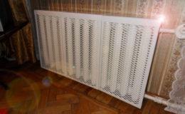 экраны на радиаторы стальные