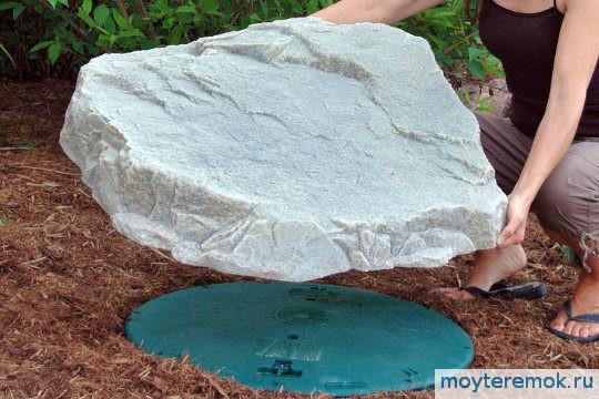 искусственные камни на люки