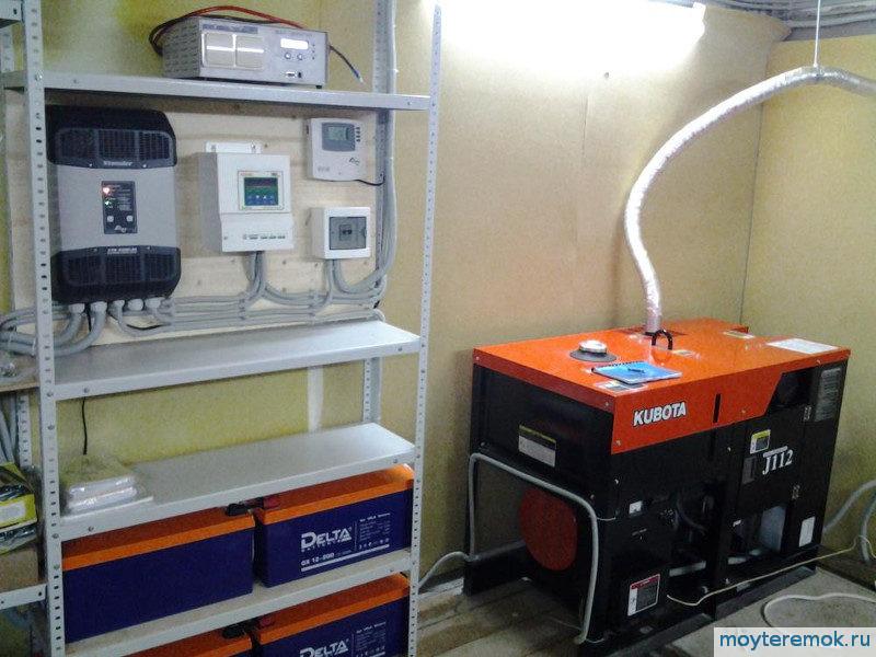 комбинированная система электропитания
