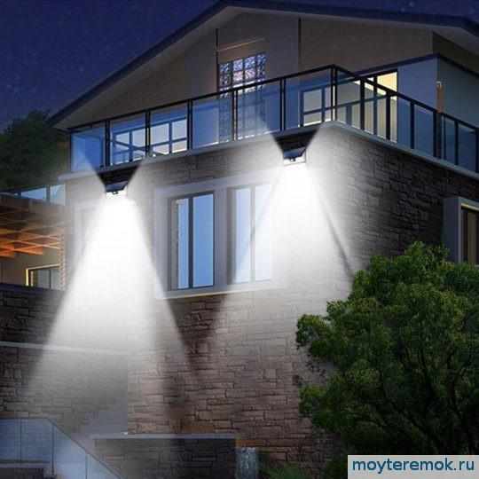 прожекторы уличные на фасад