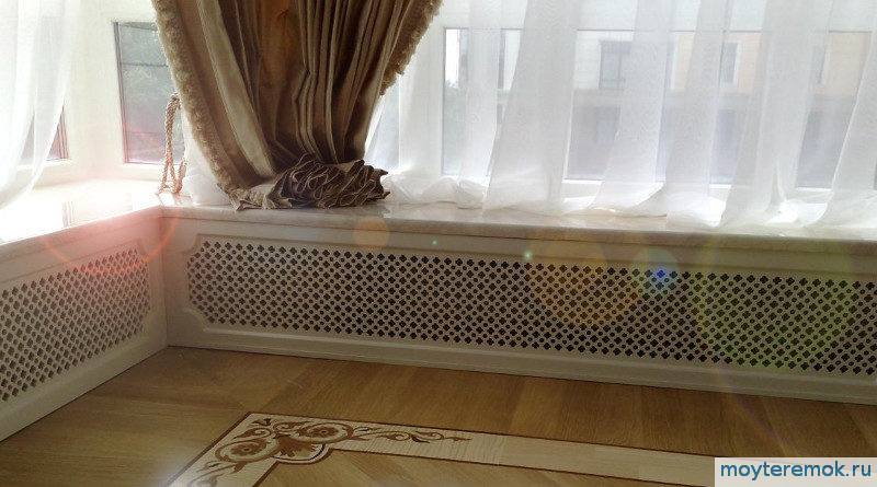декоративные панели хдф на батареи