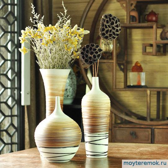 вазы из фарфора